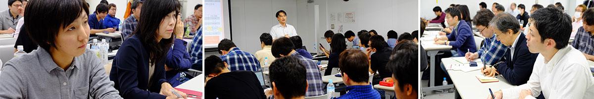 東京都中小企業診断士協会所属 CB研究会定例会の一場面